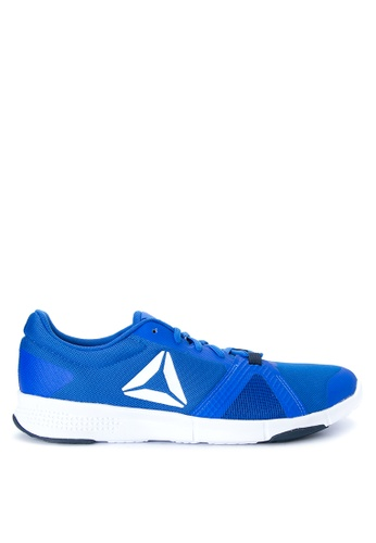 Reebok white and blue and navy Reebok Trainflex Lite Training Shoes RE600SH0J2J4PH_1