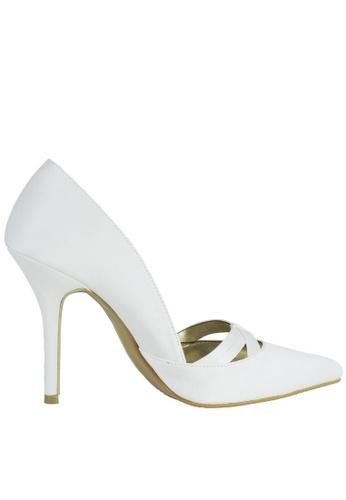 Jacque white Catherine White Heels JA262SH40LYDMY_1