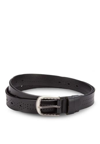 沖孔皮革腰帶, 飾品配件esprit 手錶, 飾品配件