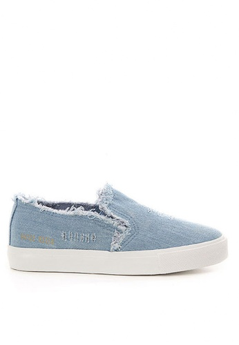 Twenty Eight Shoes blue Rotten Slip-on TW446SH08SFFHK_1