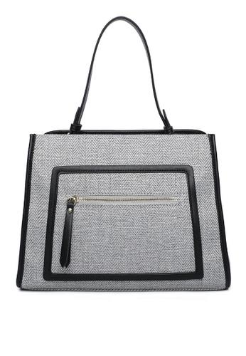 Milliot & Co. grey Setlla Tote Bag ED722AC50F36A8GS_1
