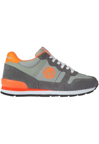 paperplanes grey Paperplanes-1303 Trendy Low Top Sports Running Shoes US Women Size PA355SH57PKKSG_1