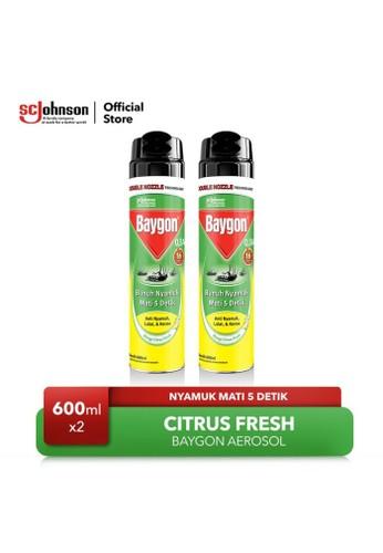Baygon Baygon Aerosol Citrus Fresh 600ml x2 F7833ES5AFE149GS_1