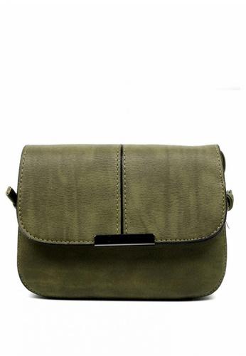 Vintage Paris green Ellaria Cross Body Sling Bag VI567AC0IVMKPH_1