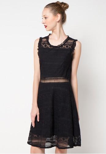 CHANIRA black Deniz Dress CH930AA18ZQRID_1