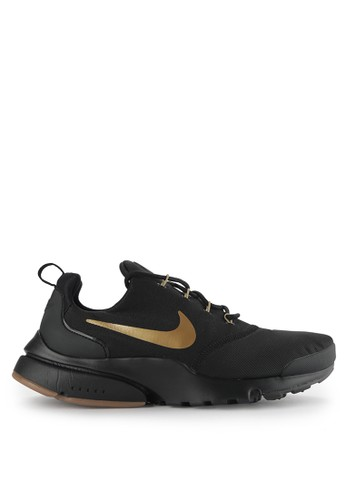 Nike black Men's Nike Presto Fly Shoes NI126SH0WCKPID_1
