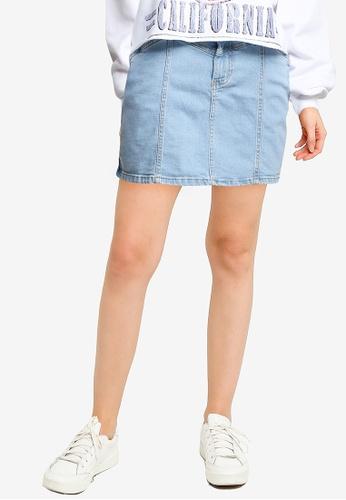 Supre blue Clara Stretch Denim Mini Skirt 342EEAA5829462GS_1