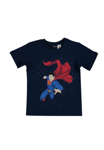 LC Waikiki navy Boy's Superman T-Shirt 34911KA468E6D7GS_1