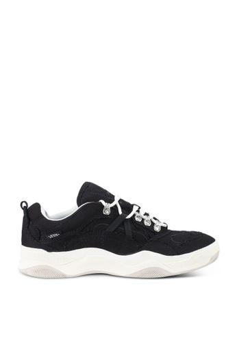 VANS black Varix WC Torn Canvas Sneakers 0FD61SHB5AEEFFGS_1