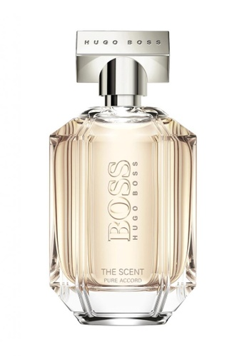 Hugo Boss Fragrances HUGO BOSS Boss The Scent Pure Accord For Her Eau de Toilette 100ml 15E69BE38C2841GS_1