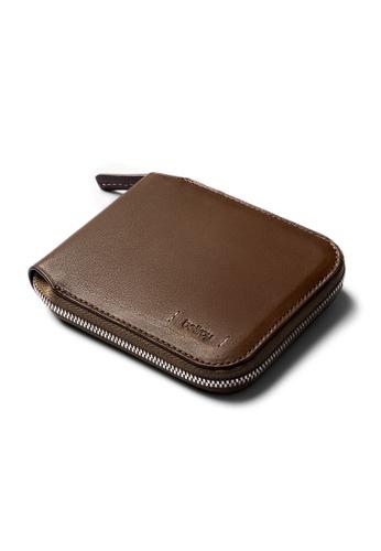 Bellroy brown Bellroy Zip Wallet (Premium Edition) - Darkwood 3BE3BAC0BEE520GS_1