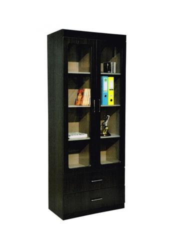 Choice Furniture black Choice Furniture - Barric Bookshelf 68E22HLA64F04CGS_1