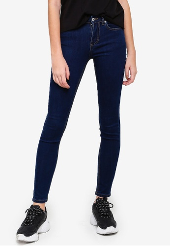 Factorie blue The Mid-Rise Skinny Jeans 06D2CAAC008214GS_1