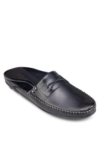 Italy 系列esprit outlet 台中繫帶懶人拖鞋, 鞋, 懶人鞋