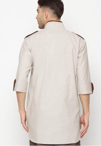 Jual Zayidan Zayidan Baju Gamis Muslim Rafan Cream