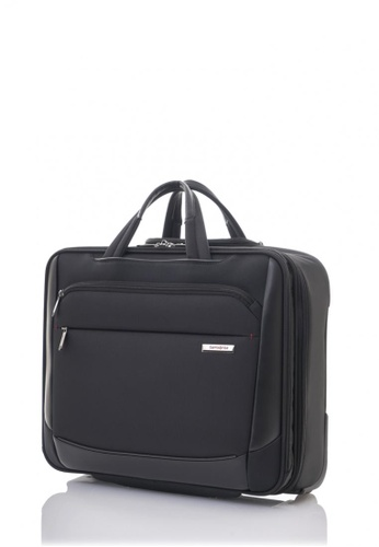Samsonite black Samsonite Vigon Rolling Tote SA186AC32KHNSG_1
