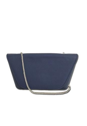O bag blue O Bag Sheen Navy Blue with Navy Blue Flap & Chain 7D12FAC722A65DGS_1