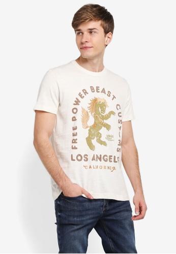 ESPRIT white Short Sleeve T-Shirt ES374AA0SJ7TMY_1