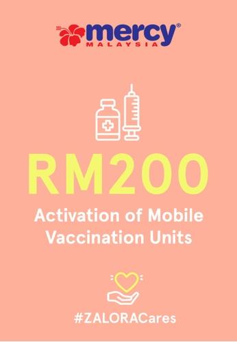 #ZALORACares MERCY Malaysia - Donation to fight COVID-19 (RM200) 62EB1AC908E8EAGS_1