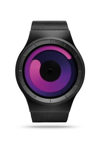ZIIIRO black and purple Mercury Black Purple Watch 39ED2ACCD477E6GS_1