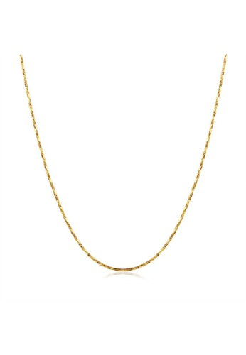 Tiaria yellow Tiaria Lady Geometry Chain Gold Plated Aksesoris KRGPC009-18--K09 39A96AC1916F9EGS_1