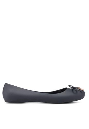 Twenty Eight Shoes black Jelly Ballerinas A-9 833B5SH6AFEA73GS_1