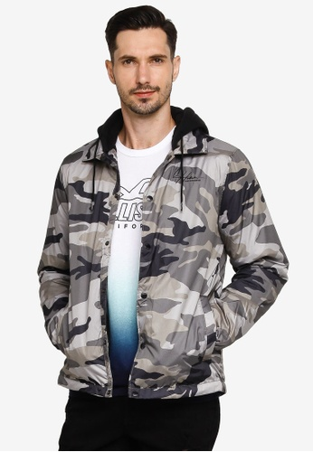 Hollister multi Filled Coaches Jacket 0CC21AAF60895AGS_1