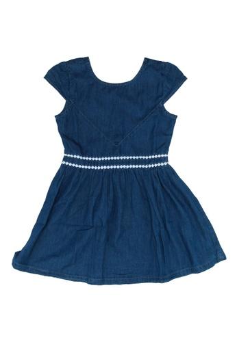FOX Kids & Baby blue Denim Dress 52F49KA07834C9GS_1