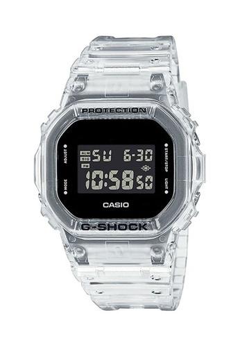 G-shock black and white CASIO G-SHOCK DW-5600SKE-7 34E2EAC725ABE5GS_1
