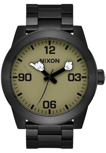 Nixon black Nixon-Nixon Corporal SS Mickey - Black(A3463094-00) C0687AC8C9D93BGS_1