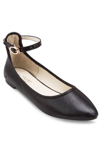 Ocesprit 童裝casion 繞踝扣帶尖頭平底鞋, 女鞋, 鞋