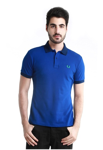 Fred Perry Green Label  Men's Special Undercollar Slim Fit Polo Shirt  FR595AA68UHJMY_1