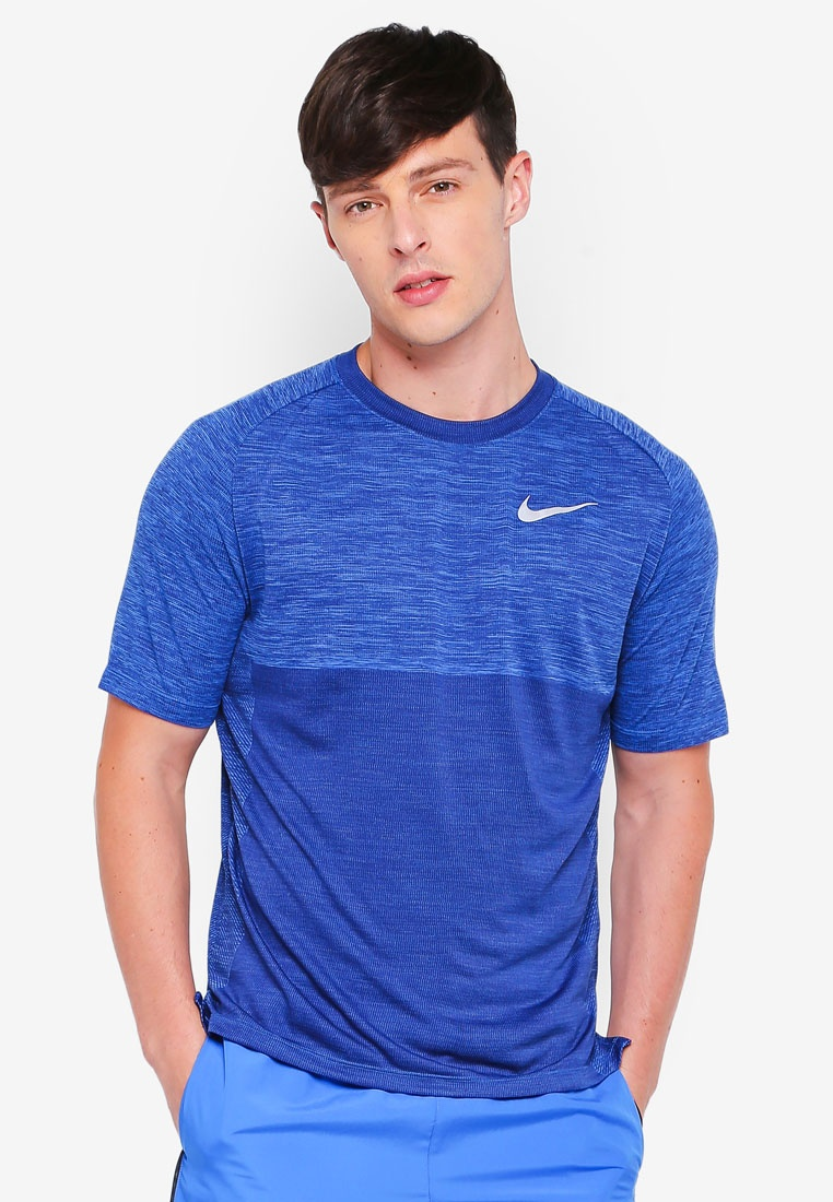 Blue Tee M Medalist Nk Dry As Void Signal Nike Blue Ivqa0R