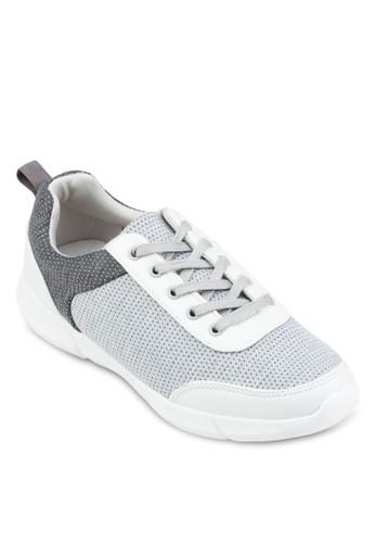 拼色繫帶運動鞋, 女鞋esprit 童裝, 運動鞋