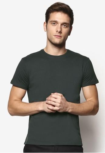 修身基本款圓領TEE, 服飾,esprit 京站 T恤