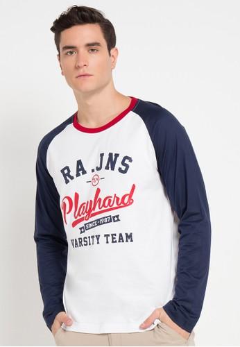 RA Jeans white and multi Ram7 166 B Ls RA626AA0VXWXID_1