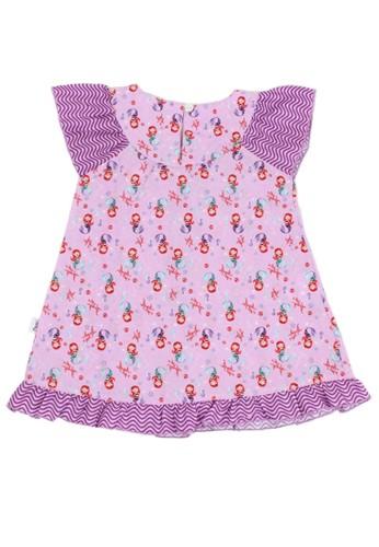 Pingu purple Pingu - Dress Baby Printing Mermaid 82F50KADE098B8GS_1