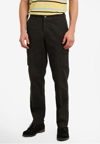 BGM POLO 褐色 Men Cargo Long Pants BG646AA0S0L4MY_1