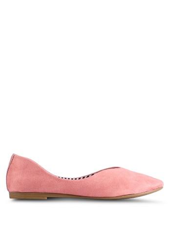 BETSY 粉紅色 Alexis Ballet 平底鞋 620B9SH49AC955GS_1