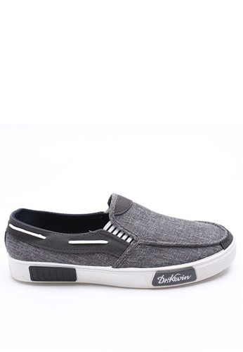 Dr. Kevin grey Dr.Kevin Men Casual Shoes Slip On 13279 - Grey DR982SH41LYWID_1