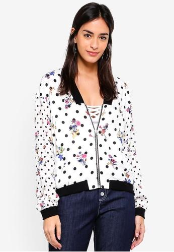 ESPRIT white Indoor Woven Regular Jacket 8CF0AAAB9531D6GS_1
