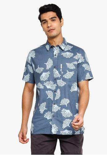 Rip Curl navy Saltwater Culture Short Sleeve Shirt 7AE4AAACCFA620GS_1
