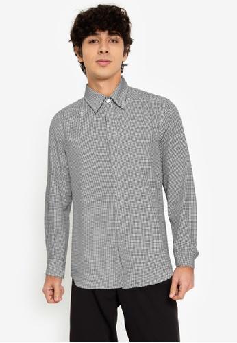 ZALORA BASICS multi Classic Collar Shirt 17EEEAA6D14121GS_1