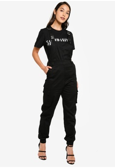 5803f69c3b588 20% OFF MISSGUIDED Petite Dungaree Cargo Jumpsuit S$ 63.90 NOW S$ 50.90  Sizes 6 8 10 12 14 · MISSGUIDED black Milkmaid Mini Dress E0810AA8E09D7AGS_1