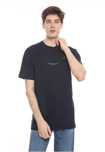 bloop blue Bloop Tshirt Greeny Navy - BLP-TC007 F473BAA1414FB0GS_1