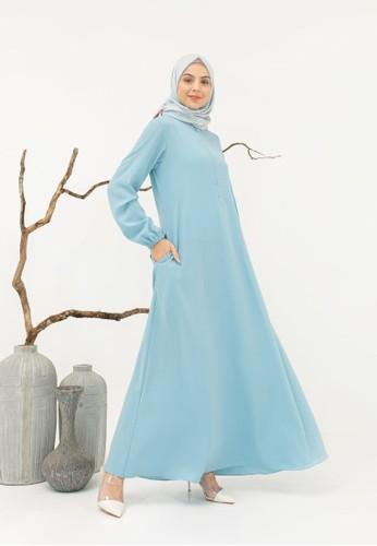Yumnasa.id blue Yumnasa.id SUMMER Dress E7530AA3E9C887GS_1
