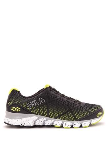 Fila black and green Core Energized Running Shoes FI683SH87WPSPH_1