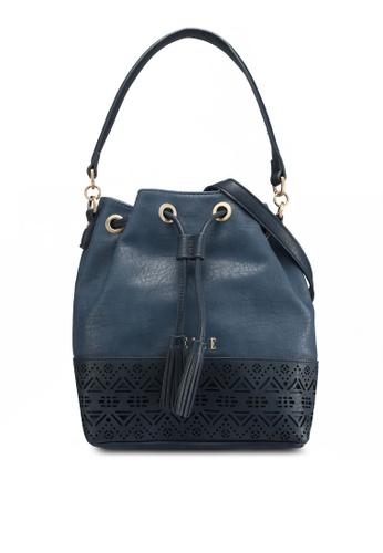 ELLE blue Dalia Shoulder Bag 307D7AC6342EE8GS_1