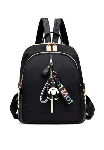 8a9695439d Lucky JX black Korea Olive Waterproof Long Strapped Mini Backpack  C7A67AC02FBC01GS 1