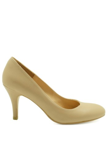 Apple Green beige Iris Pump Heels AP517SH30WDTID_1